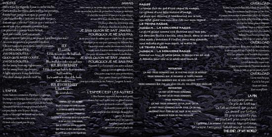CD : 2ABSURD LIVRET PAGE 2 ET 3