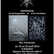 2012, Expositon de Photographies et d'art numérique, Barbâtre.