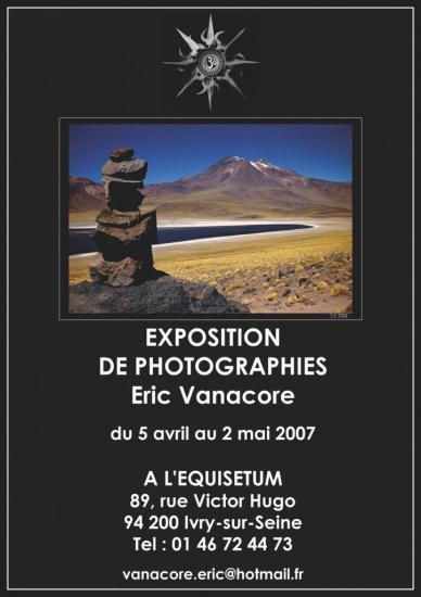 2007, Exposition d'Art Numérique à L'Équisetum, Ivry-sur-Seine.