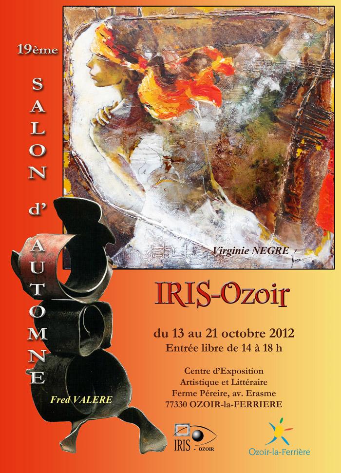 2012, 19ème salon d'automne d'Iris-Ozoir, Ozoir-la-Ferrière.