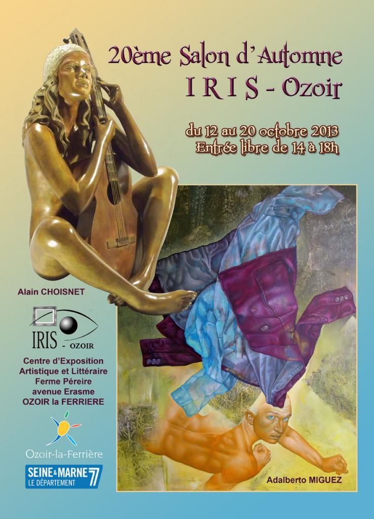 2013, 20ème salon d'automne d'Iris-Ozoir, Ozoir-la-Ferrière.