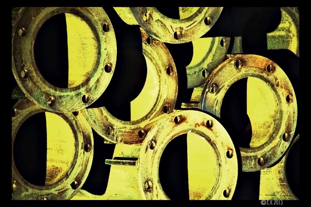 De ronds et d'acier