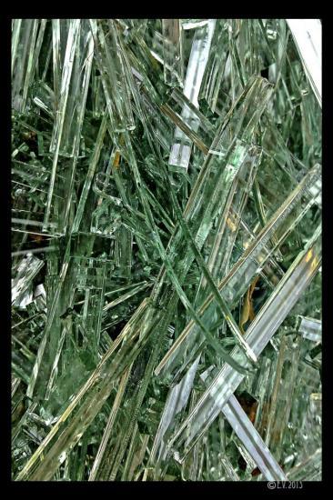 Des brises de verre