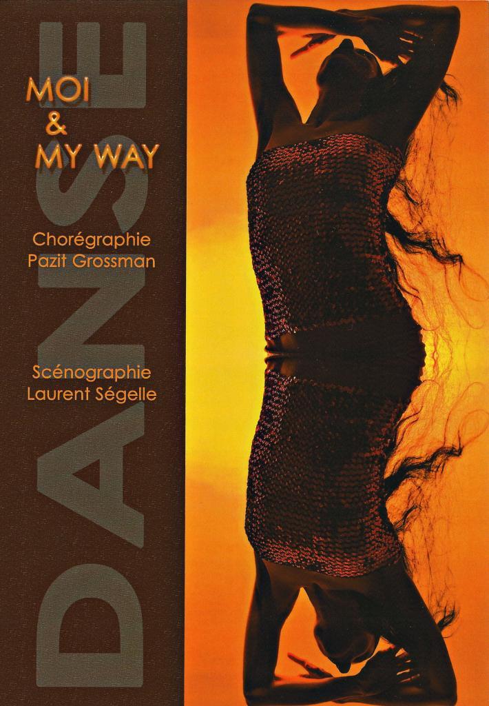 Front flyer pour Pazit Grossman chorégraphe et danseuse