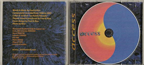 Access inside + cd