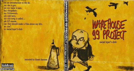 Warehouse 99 project front+back covers