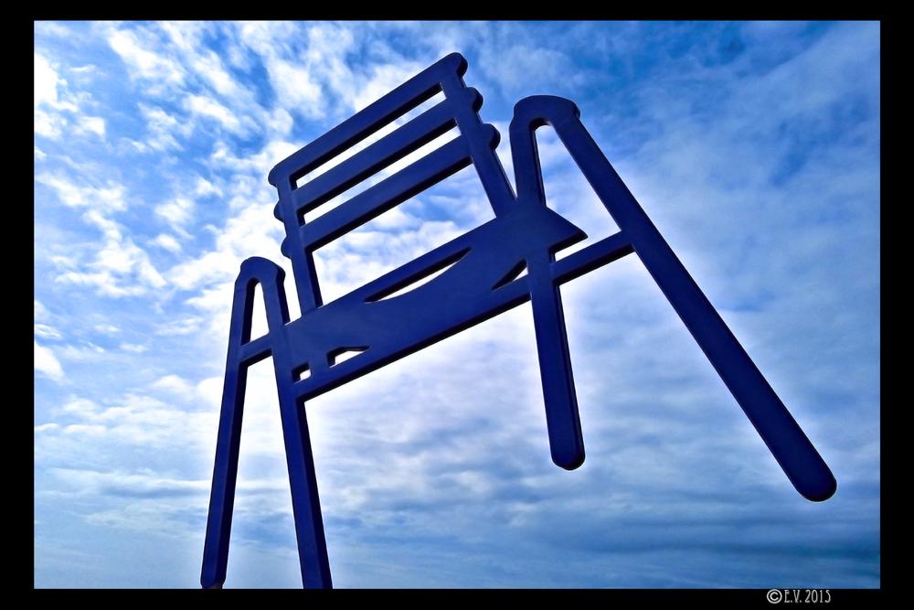 La chaise de la Promenade des Anglais