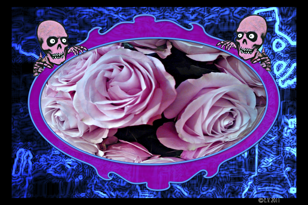 La vie en rose / Montage photo.
