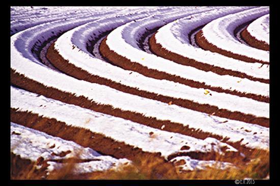 Les sillons en neige