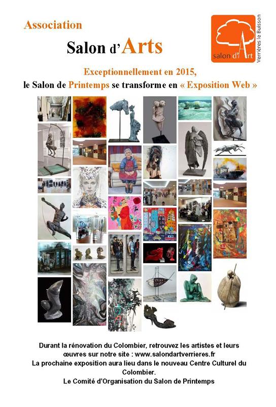 2015, 31ème salon de printemps, Verrières-le Buisson.