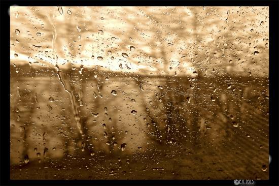 Verre et Pluie